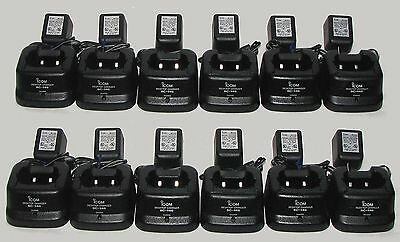 12 Bc-146 Chargers For Icom Radios Ic-f11 Ic-f21 Ic-f30 60 Day Warranty Bc146