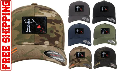Blackbeard Flag Baseball CAP HAT Official Licensed multicam Flexfit Snapback