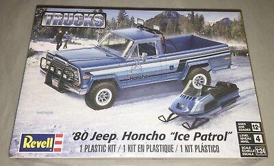 Revell 80 Jeep Honcho Ice Patrol Pickup 1/24 model car truck kit new 7224 *