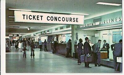 Vintage Postcard, Bradley Airport, Windsor Locks, Connecticut