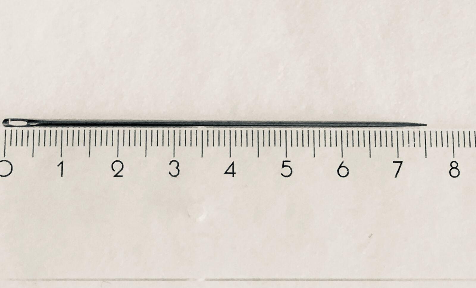 Sacknadel Nadel Durchziehnadel m Sperrnadel 1A stabile Qualitäts Packnadeln