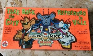 Biker Mice From Mars Board Game
