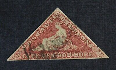 CKStamps: Cape of Good Hope Stamps Collection Scott#12 Used Nick