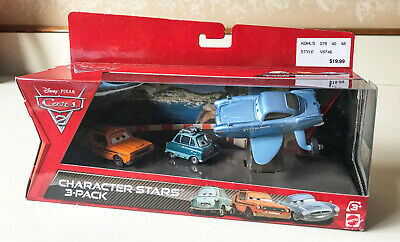 Disney Pixar Cars2 - 3-Pack - Grem Professor Z Submarine Finn McMissile MIB 2010