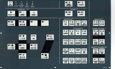 Hitachi Seiki Cnc Keypad Membrane Control Panel - Hs1013-2