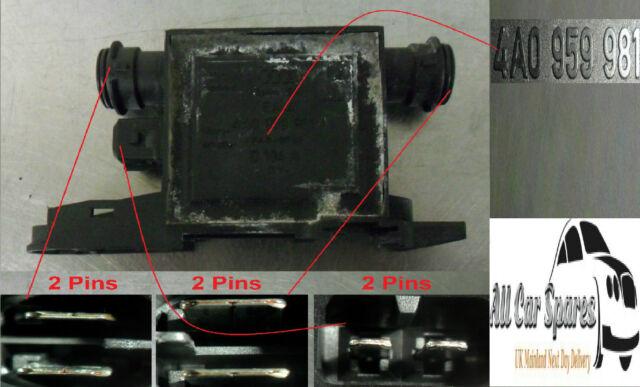 Audi A3 / A4 B5 - Driver Side Front Heated Door Lock Control Unit / Module