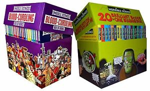 Horrible Collection 40 Books Gift Box Set Horrible Histories, Horrible Science