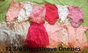 Baby Girl 3-6M Clothes Lot