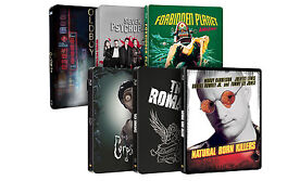 Exclusive Blu-Ray Steelbooks From £8.99