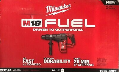 Brand New Milwaukee M18 Fuel 1-916 Sds Max Rotary Hammer 2717-20 Free Shipping