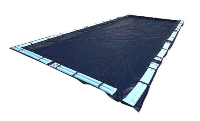 Deluxe 20x40 Dark Blue Winter Rectangular Inground Swimming Pool Cover Safety