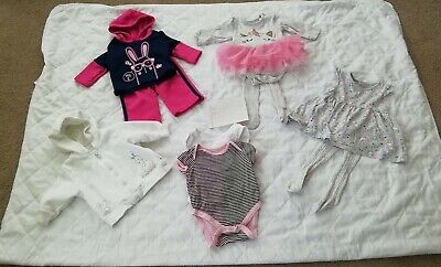 0-3 Months Old Baby Girl Clothes Bundle