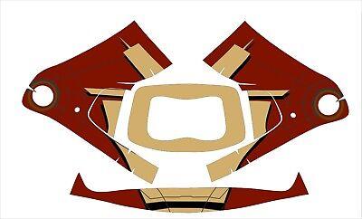 3m Speedglas 9100 Fx Auto Sw Jig Welding Helmet Wrap Decal Sticker Iron Man