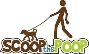 Scoop the Poop Yard Cleanup