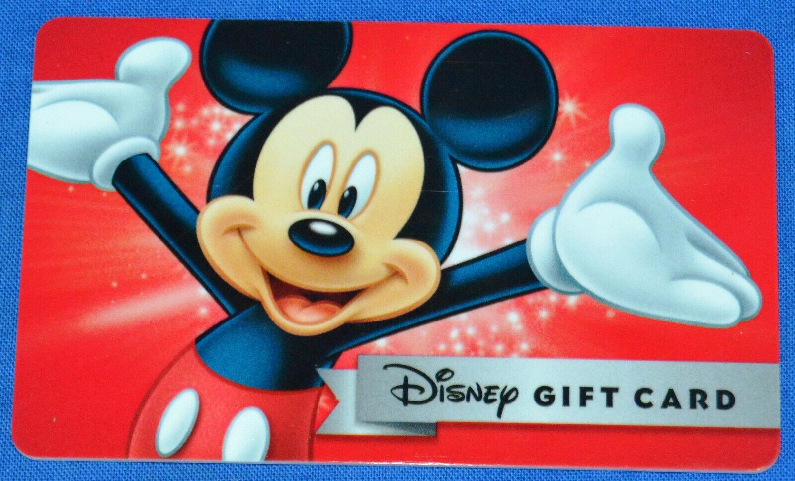 60 Disney Gift Card FREE SHIPPING - $54.99