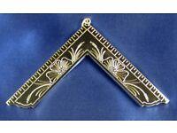 Masonic Worshipful Past Master Breast Jewel ~ Brand New ~ Free Shipping  $ 19.80