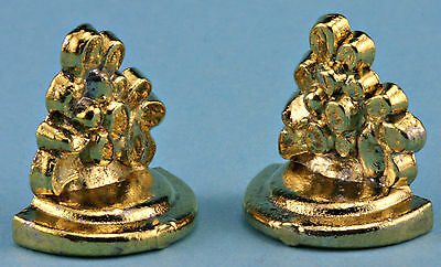 (Dollhouse Miniatures 1:12 Scale Book Ends Item #IM65083)