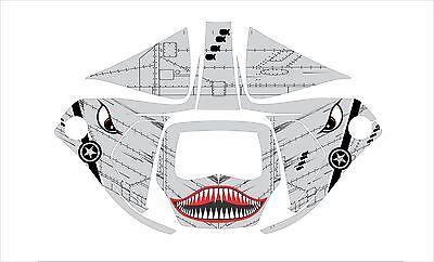 3m Speedglas 9100 V X Xx Auto Sw Jig Welding Helmet Decal Sticker Shark Mouth