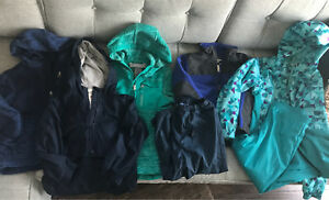 Girls and Boys Jackets & Splash Pants, Sizes 4-8