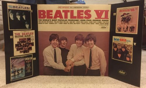 "The Beatles ""Beatles VI"" Promotional Display 1965"