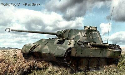 Panzerkampfwagen V Panther Zweiten Weltkrieg Wandbild
