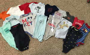 18 month size boys t-shirt onesies