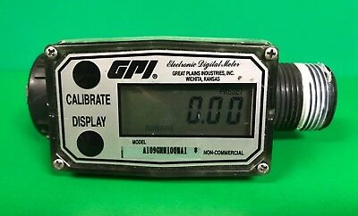 Great Plains Industries 1 Npt Commercial Grade Turbine Flow Meter A109gmn100na1