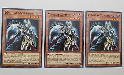 3x Magical Something Effect Monster Cards The Best And Great Online Set (Best Effect Yugioh Cards)