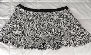 Rickis Women's knit Jacquard Flounce Skirt