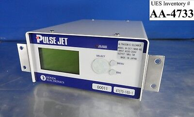 Honda W-357-1mqb-ns Ultra Sonic Cleaner Controller Pulse Jet Used Working