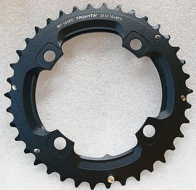 Truvativ Trushift 32T 104mm 9-Speed Alloy Bike Chainring Black SRAM
