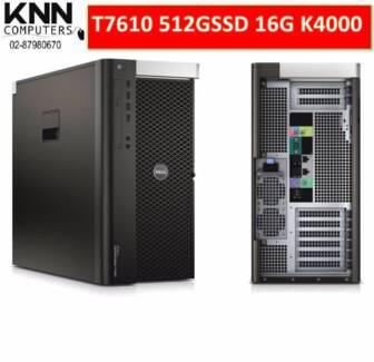 Dell Prcision T7610 E5-2630 6C 512G SSD 16GECC RAM Quadro K4000