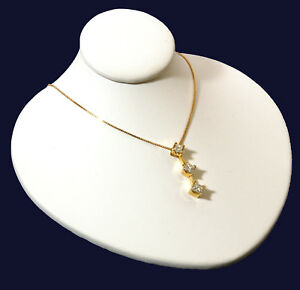 White Leather Jewelry Display Bust Pendants & Necklaces