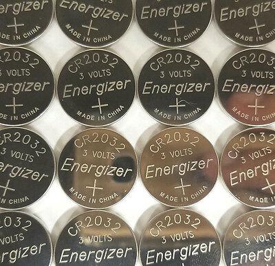 50 BULK ENERGIZER CR2032 CR 2032 ECR2032 3v Battery  EXPIRE - Cr2032 Batteries Bulk