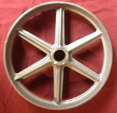 International M Gas Engine Cart Wheel Hit Miss 9 Inch Front Truck Cast Iron