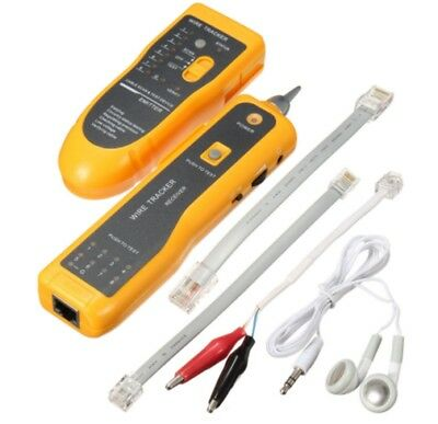 Telephone Phone Rj45 Rj11 Wire Tracker Ethernet Lan Network Cable Tester Tracer