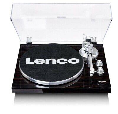Lenco LBT-188 Nogal Tocadiscos Bluetooth USB Anti-skating