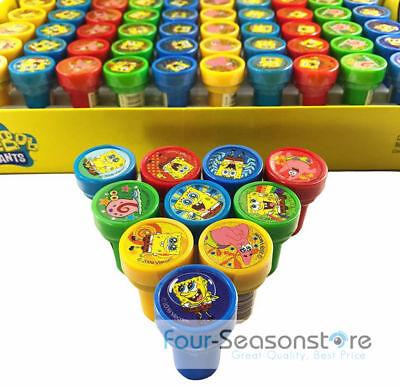 Sponge Bob Birthday Party (Sponge Bob Self Ink Stamps Birthday Party Favors Gift Bag Filler)
