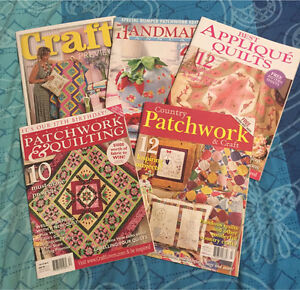Quilting and craft magazines Albany Albany Area Preview