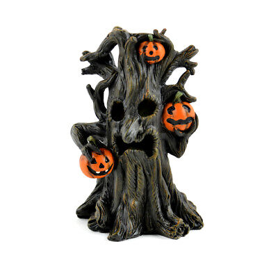 Fairy Garden Fun Halloween Miniature  LED Spooky Tree Dollhouse Figurine Lighted