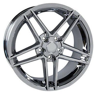 Wheel 2005-2013 Chevrolet Corvette 19 Inch Aluminum Rim 5 Lug 120.65mm Chrome