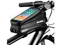 Bike Frame Bag, Waterproof Bike Pouch Bag