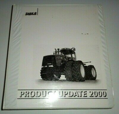 Case Ih Steiger Tractor Planter Combine Product Update 2000 Manual Stx Mx C Cx