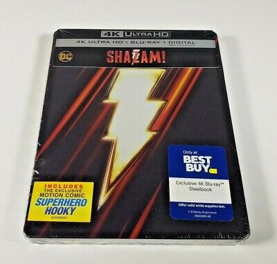Best Family Halloween Movies 2019 (SHAZAM! Steelbook Best Buy (2019 4K Ultra HD+Blu-Ray+Digital) Brand)