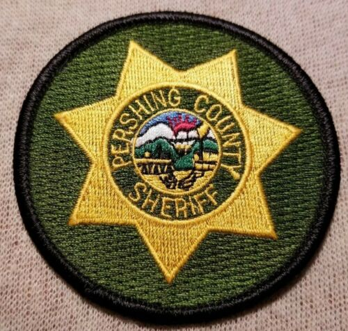 NV Pershing County Nevada Sheriff Patch (3In)