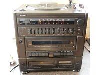 ALBA MS8000CD COMPACT MIDI HI-FI SYSTEM - PLEASE READ