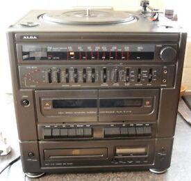 ALBA MS8000CD COMPACT MIDI HI-FI SYSTEM - SPARES/REPAIR