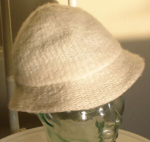 Fashionable woman's hat