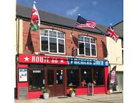 American diner in Chepstow ( offer invited)