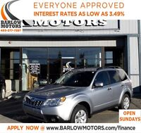 2012 Subaru Forester 2.5X/AWD/HEATED SEATS/KEYLESS ENTRY/